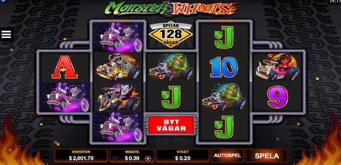 Monster Wheels spelplan