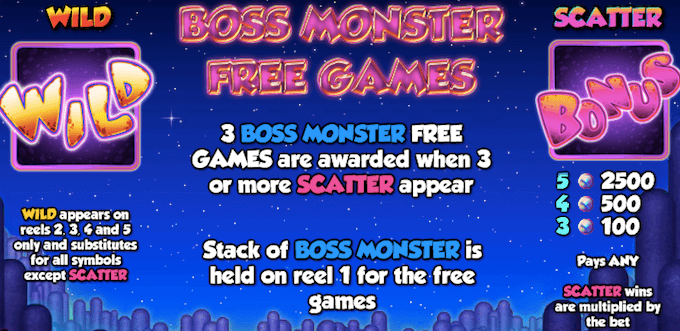 Monster Wins bonus
