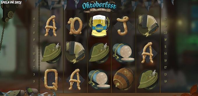 Oktoberfest Slot symboler