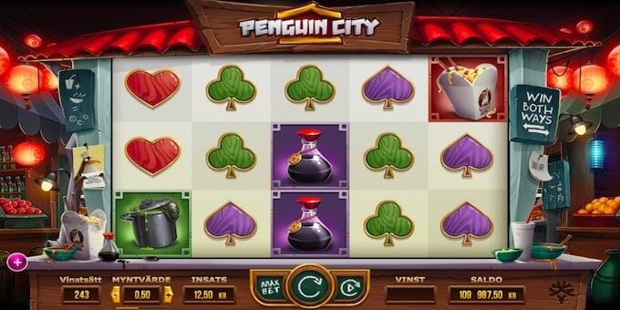 Penguin Citys symboler