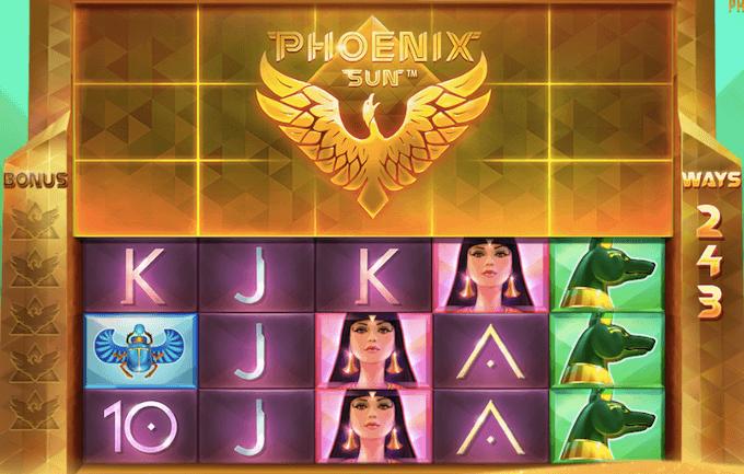 Phoenix Sun spelplan