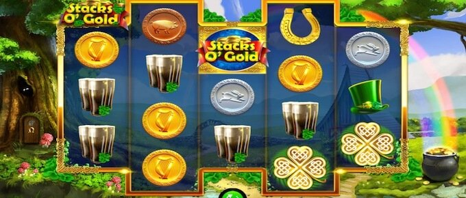Stacks O' Gold slot spelplan