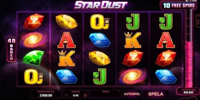 Stardust spelplan