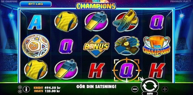 The Champions symboler