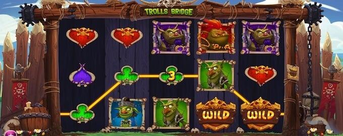 Trolls Bridge spelplan