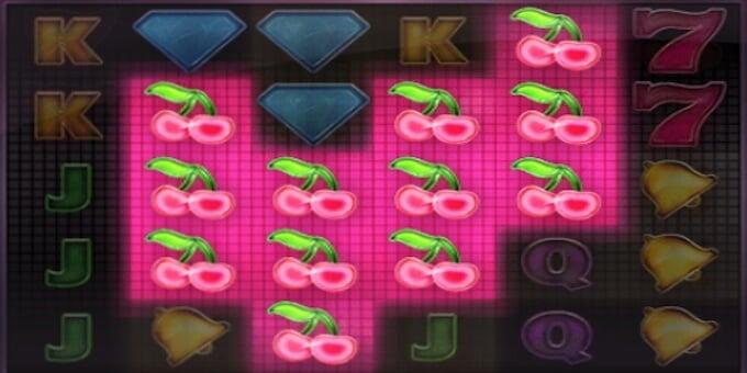 Twin Spin Deluxe spelplan