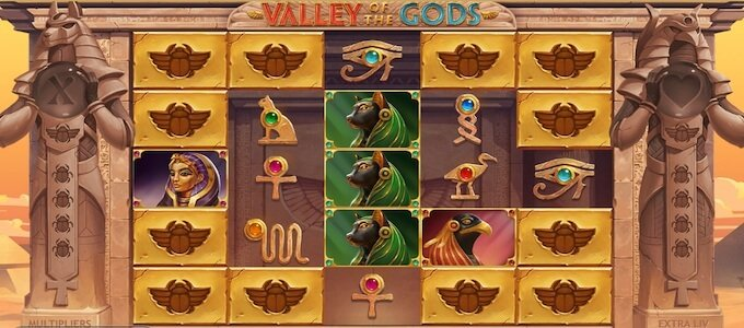 Valley of the Gods spelplan