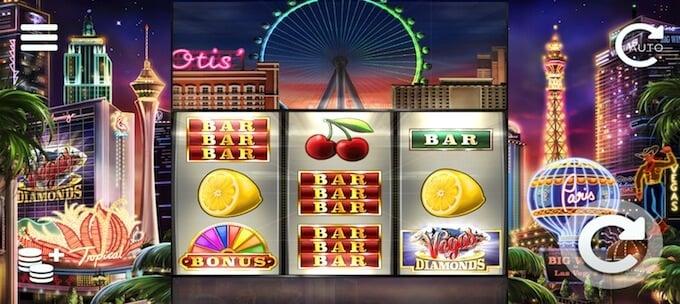 Vegas Diamonds symboler