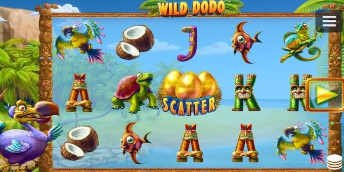 Wild Dodo spelplan