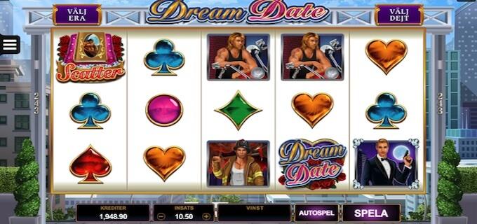 Dream Date slot symboler