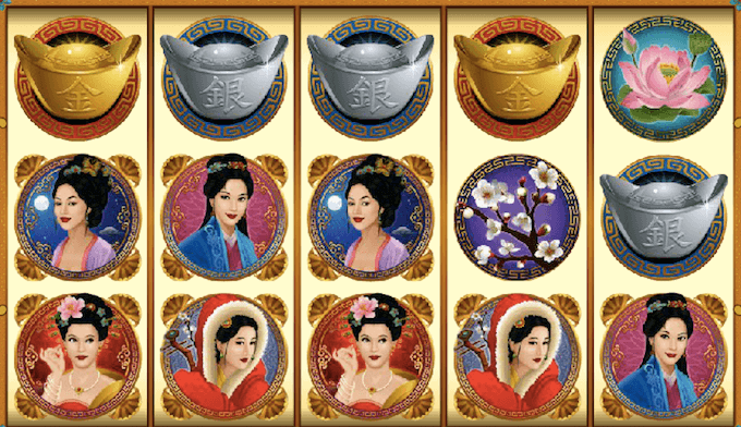 Asian Beauty spelplan