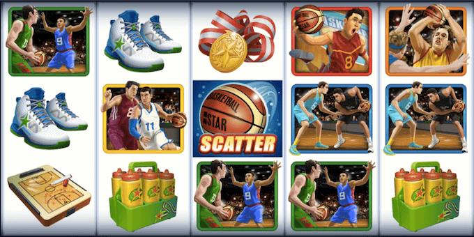Basketball Star spelplan