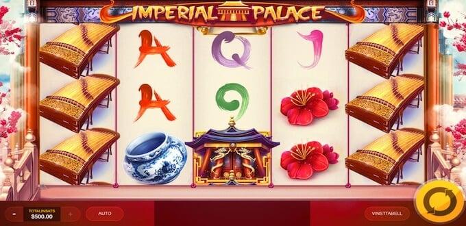 Imperial Palace spelplan