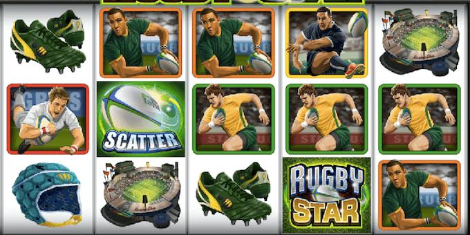 Rugby Star spelplan