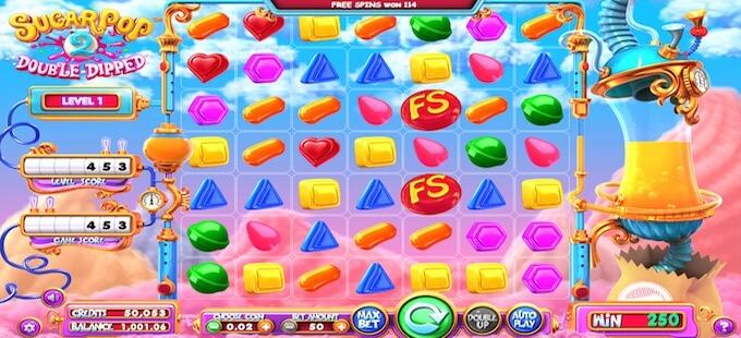 Sugar Pop 2 symboler