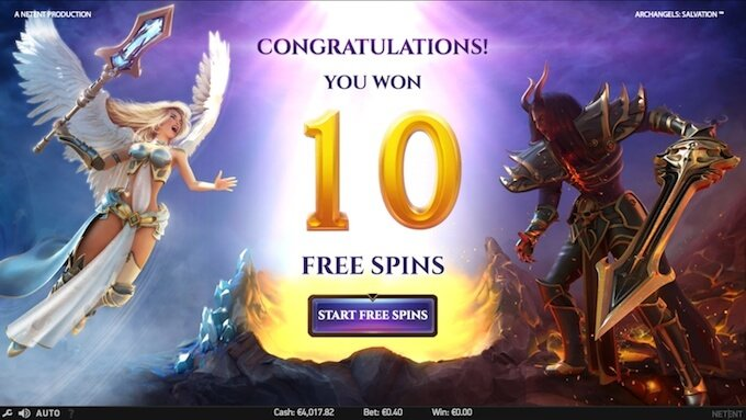 Archangels: Salvation free spins