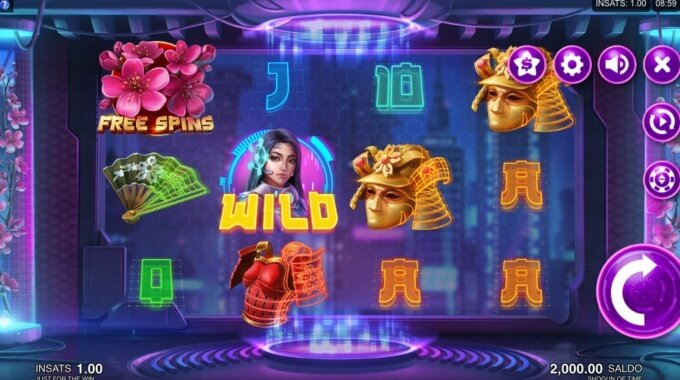 Shogun of Time Slot Free Spins