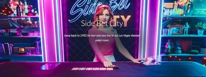 Side Bet City från Evolution Gaming