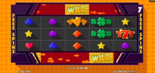 Sidewinder Slot Free Spins