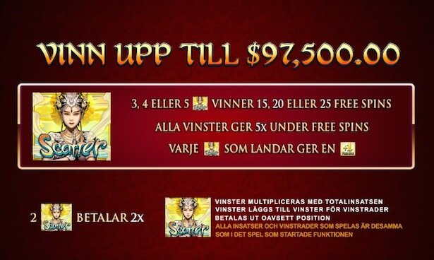 Six Acrobats Slot Free Spins