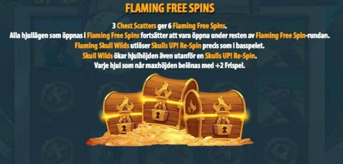 Skulls UP Slot Bonus Free Spins