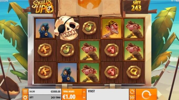 Skulls UP Slot Bonus Game