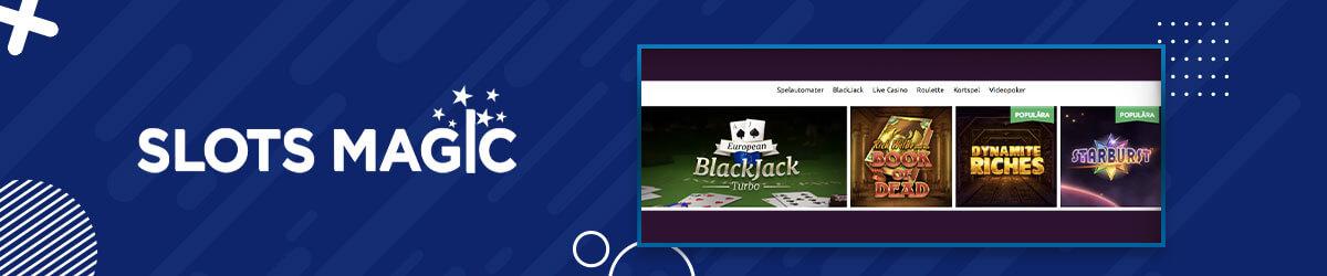 SlotsMagic Casino Bonus Games