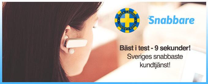 Snabbare Sveriges snabbaste kundtjänst