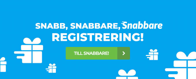 Snabbare Casino header