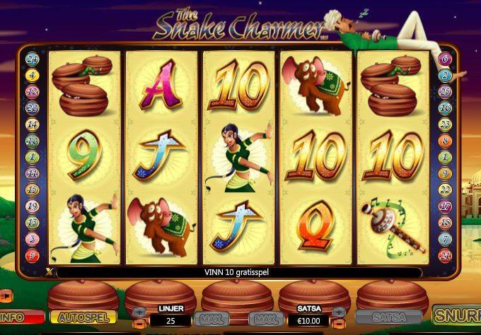 The Snake Charmer Slot