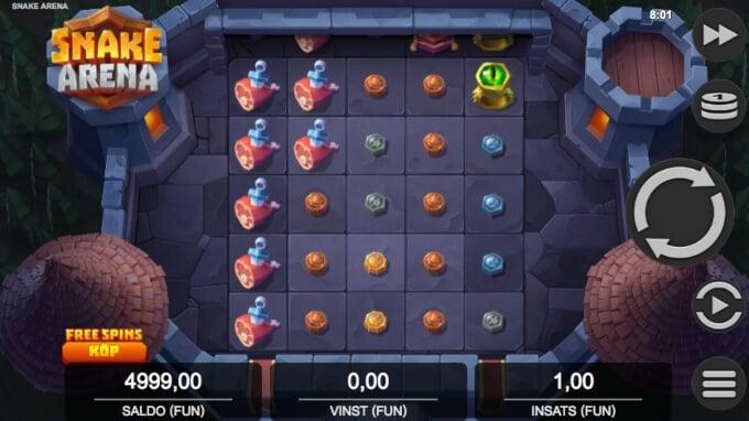 Snake Arena Slot Bonus Game