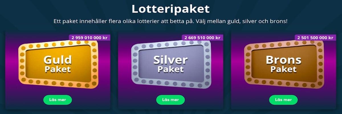 Speedy Spel lotto
