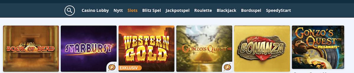 Speedybet Casino Slots