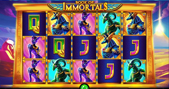 Book of Immortals spelbord