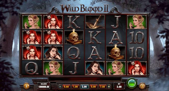 Spelplan Wild Blood 2