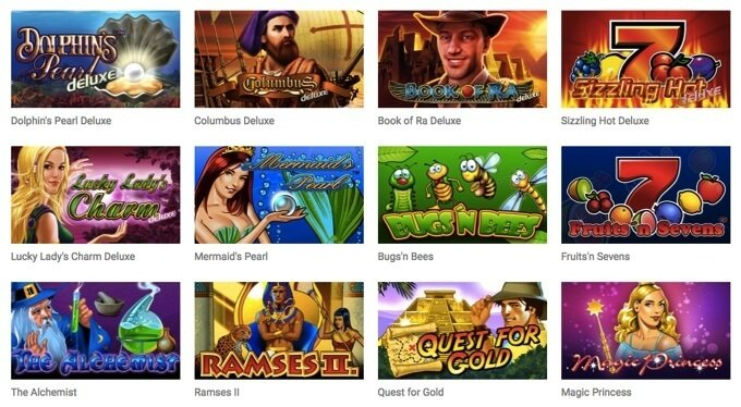 Spelutbud Quasar Gaming