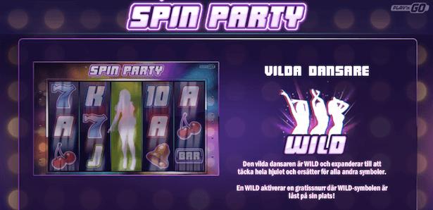 Spin Party Bonus