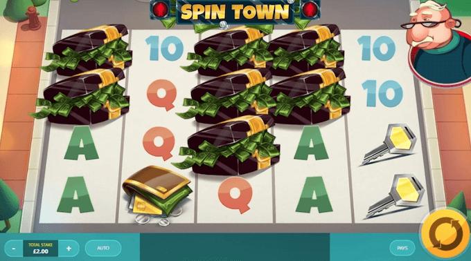 Spin Town spelsymboler