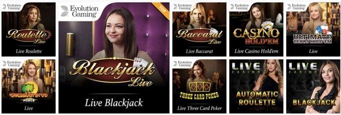 Spinland Live casino