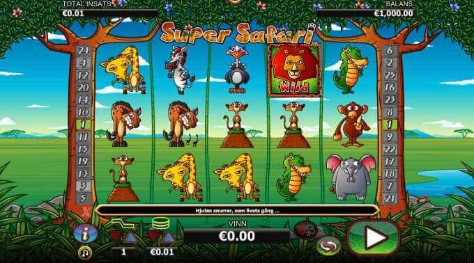 Super Safari Slot