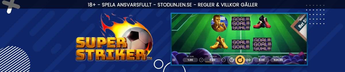 Super Striker Slot Bonus
