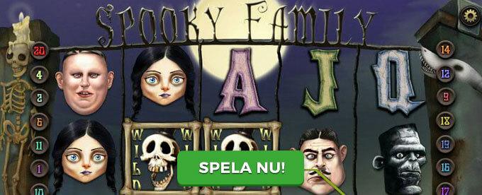 Spooky Family banner