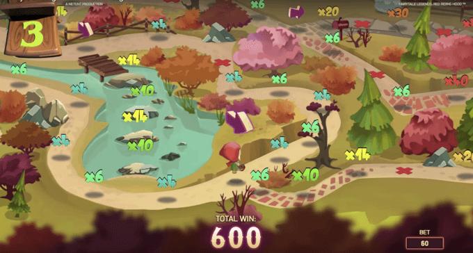 Bonusspel i Fairytale Legends slot