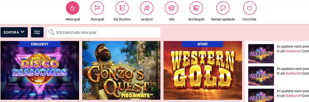 Svenska Spel Casino Spel