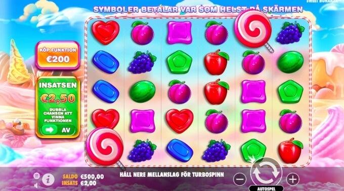 Sweet Bonanza Xmas Slot Bonus Game