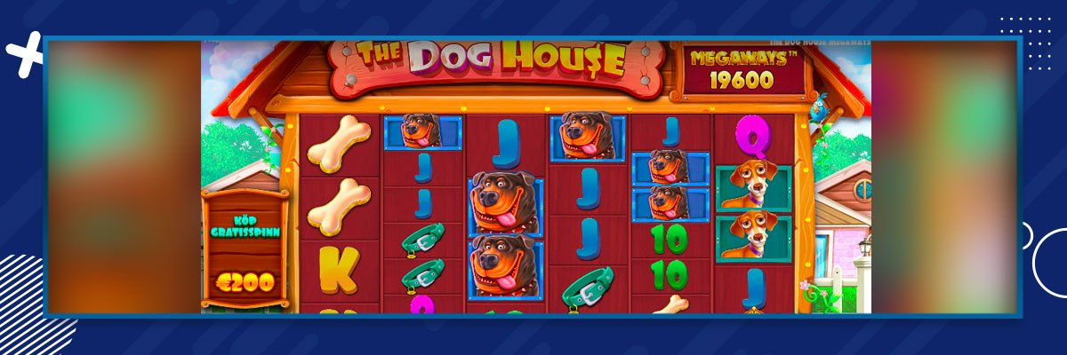 The Dog House Slot Bonus Spelplan