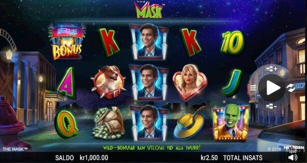 The Mask Slot Spel