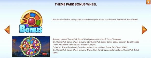 Theme Park: Tickets of Fortune Bonus