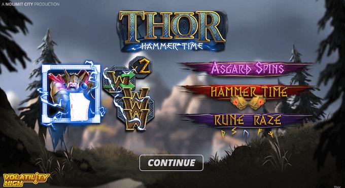 Thor: Hammer Time design
