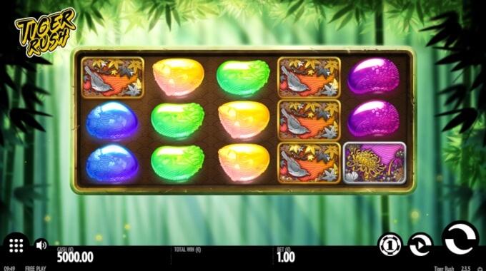 Tiger Rush Slot Bonus Free Spins